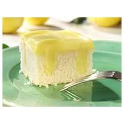 Lemon Pudding Poke Cake Trusted Brands