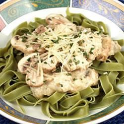 Salmon With Green Fettuccine Trusted Brands