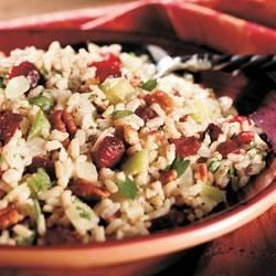 Cranberry Pecan Brown Rice Stuffing
