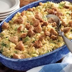 Broccoli Rice Casserole by Minute® Rice Trusted Brands