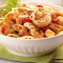 Italian Shrimp Caprese Pasta Trusted Brands