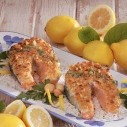 Macadamia-Crusted Salmon