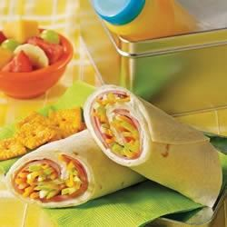 Sweet Ham Roll-Ups Trusted Brands