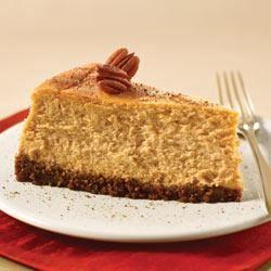 PHILADELPHIA Spiced Pumpkin Cheesecake