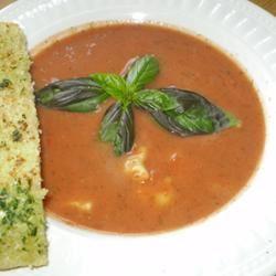 Rachel's Tomato Basil Soup