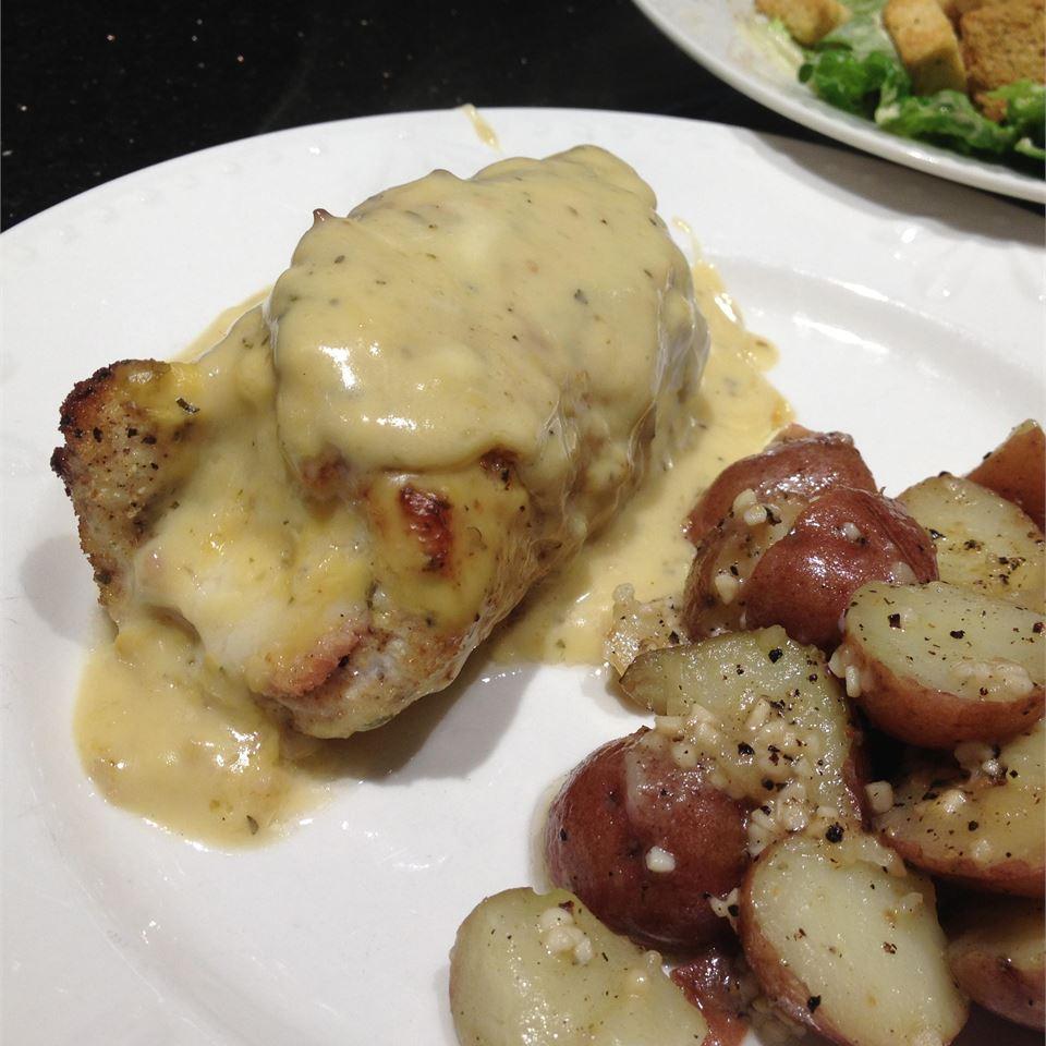 Weeknight Chicken Cordon Bleu