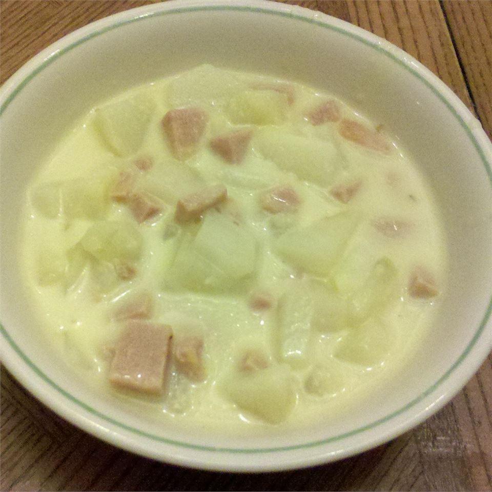 Belle's Cheesy Potato Stoup Catie