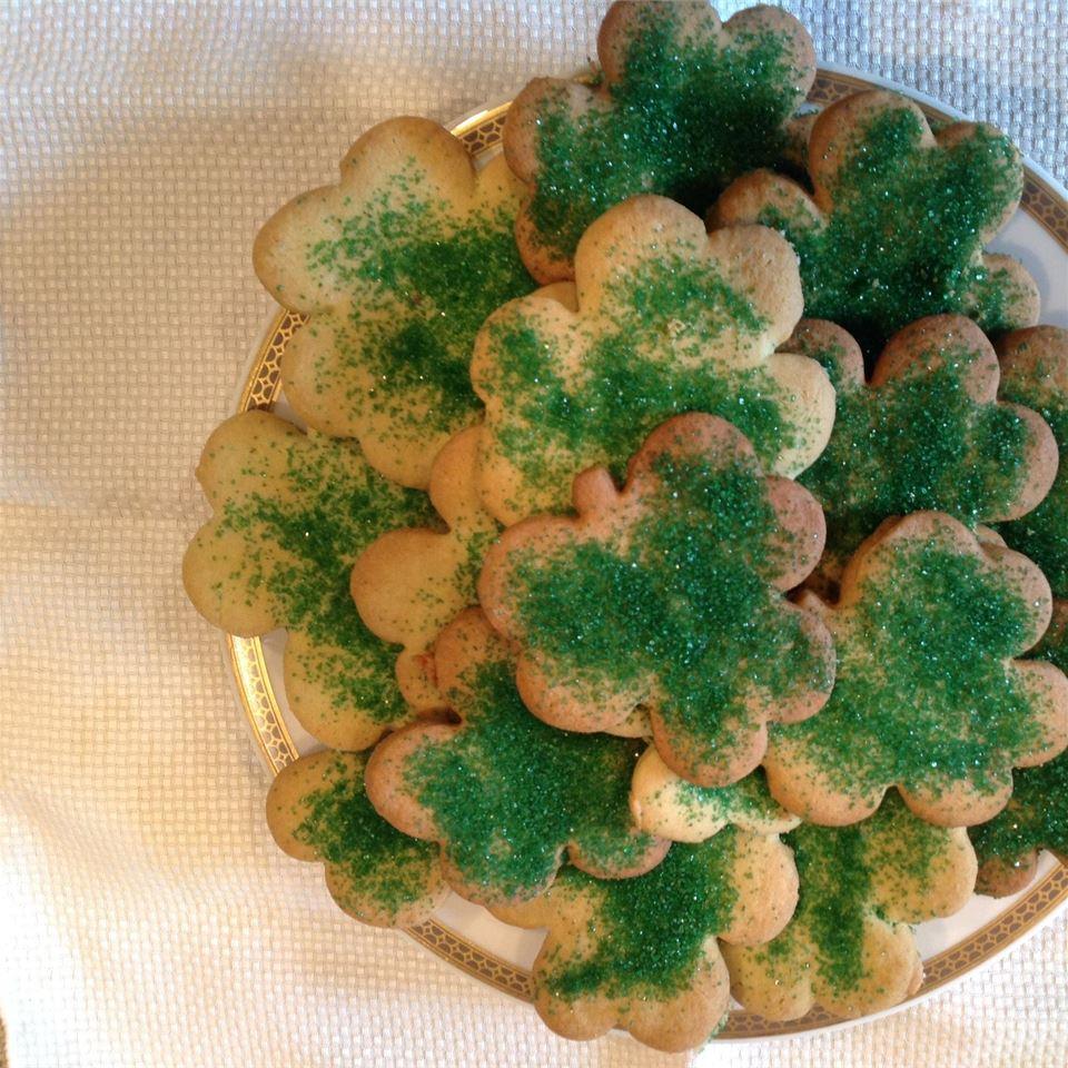 Irish Shamrock Cookies