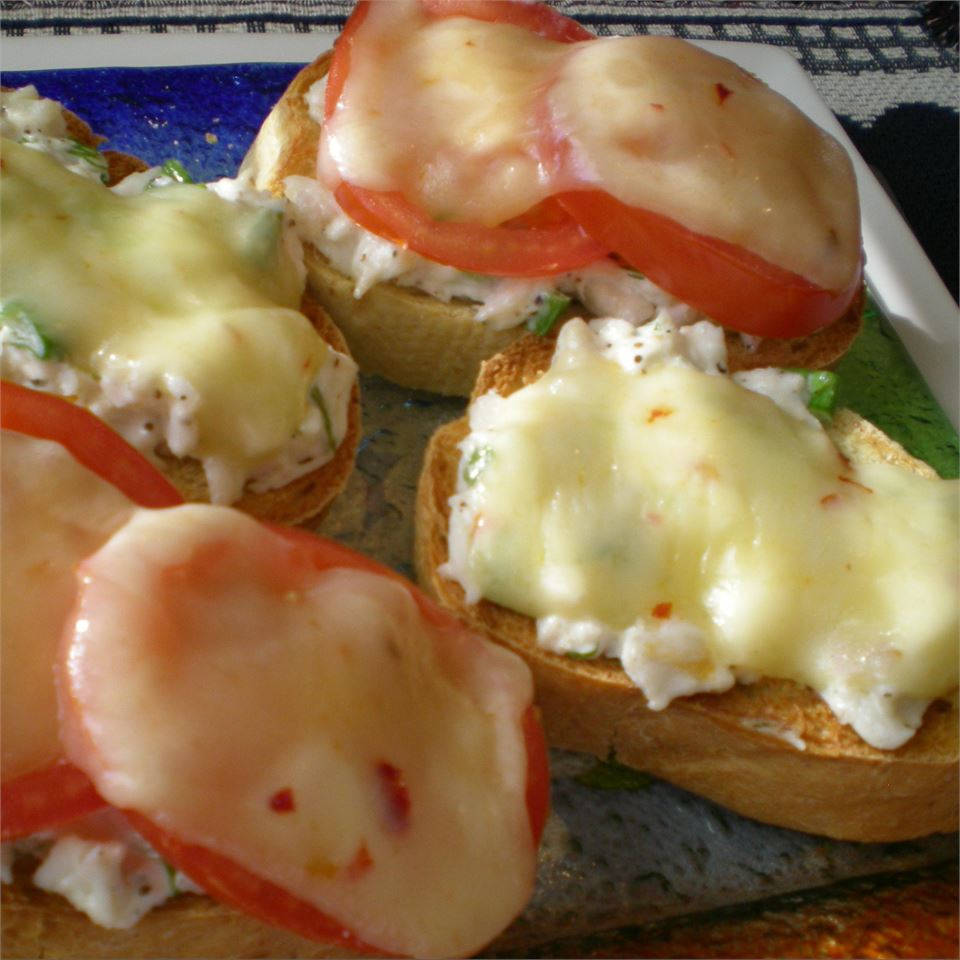 Crab and Swiss Melts