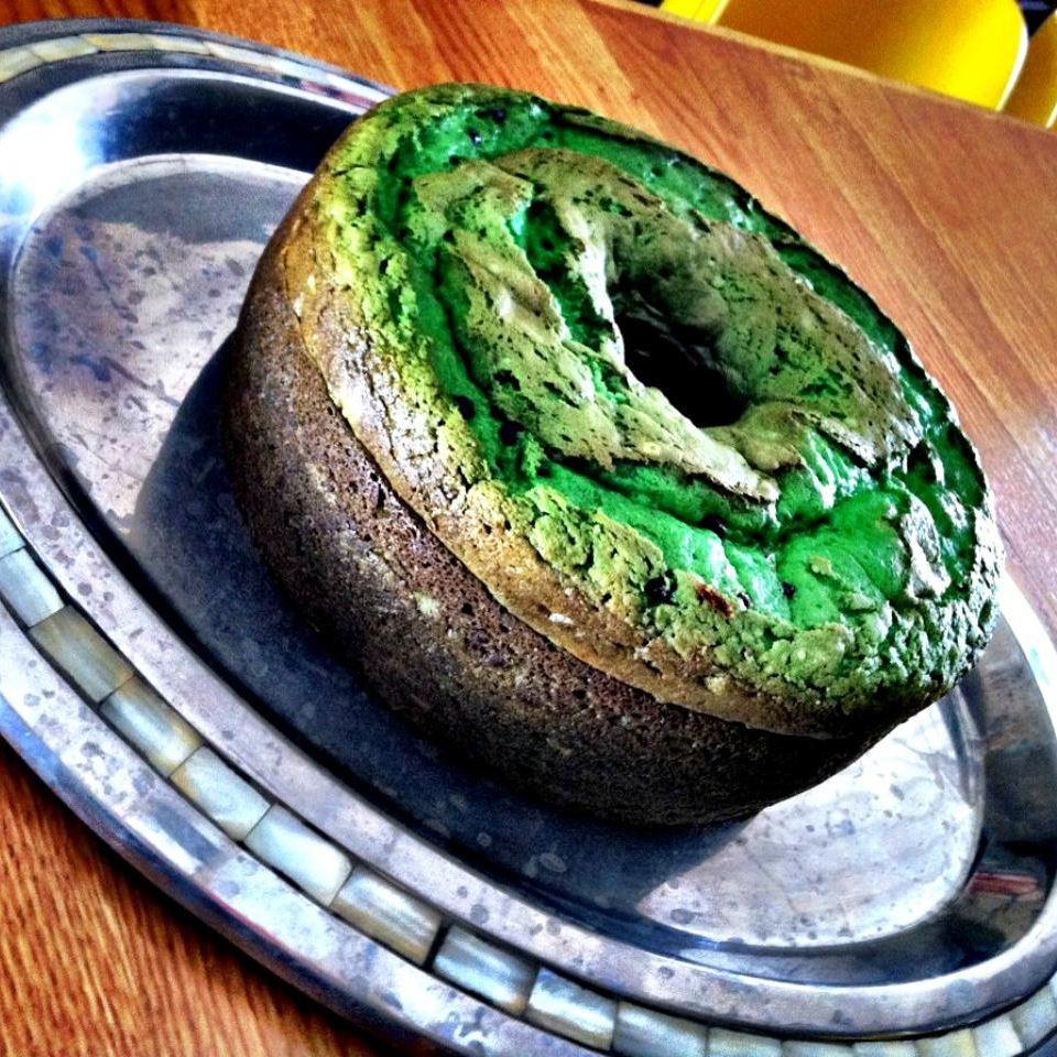 Creme de Menthe Cake II