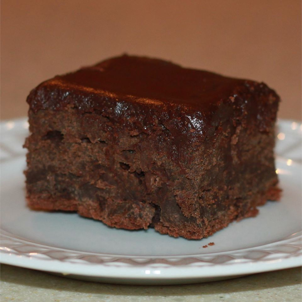 Stout Brownies with Baileys® Chocolate Ganache wdtrap
