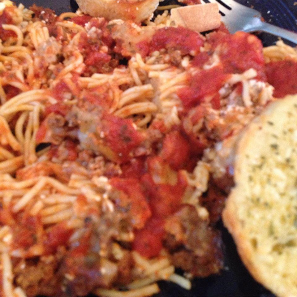 Baked Spaghetti II