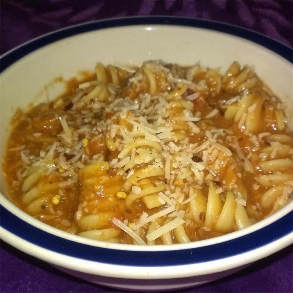 Creamy Tomato Tuna Penne Pasta