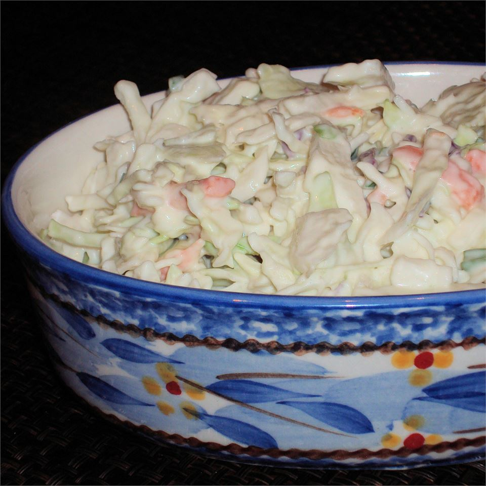 Garden Coleslaw Happyschmoopies