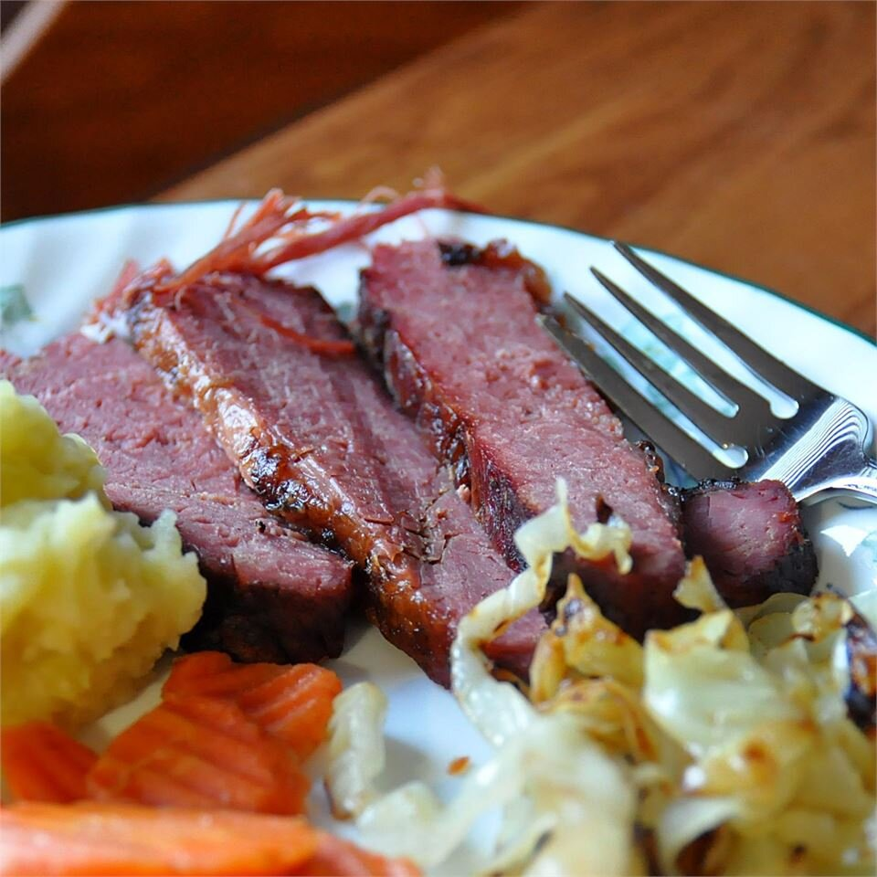braised corned beef brisket recipe