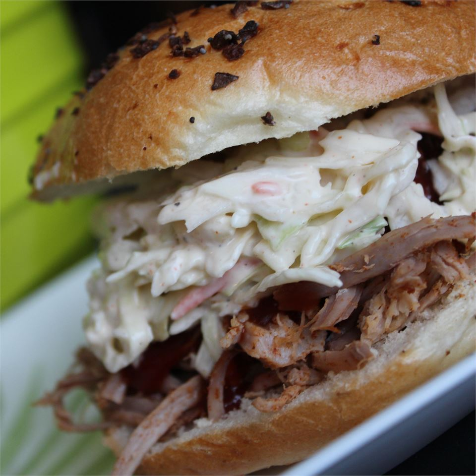 Valerio's Pulled Pork Sandwich Jaana Smith Bauman