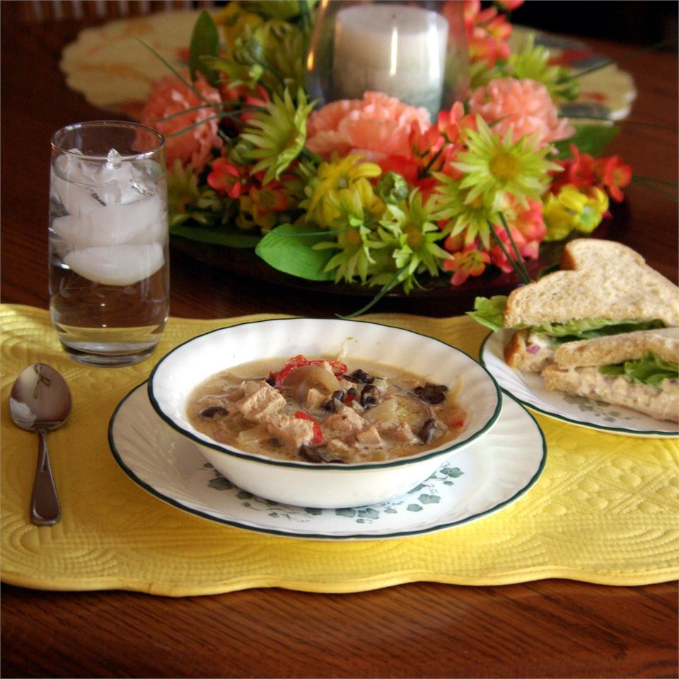 Chicken, Fennel and Mushroom Soup Linda Zaring