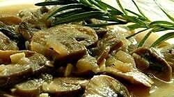 Mushroom Honey Lager Sauce