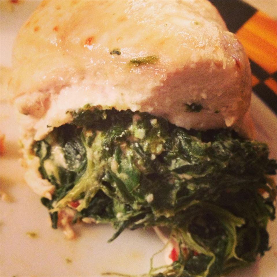 Spinach Stuffed Chicken Breast Aggie Gu