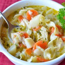 Mom Moak's Chicken Noodle Soup Joey Joan