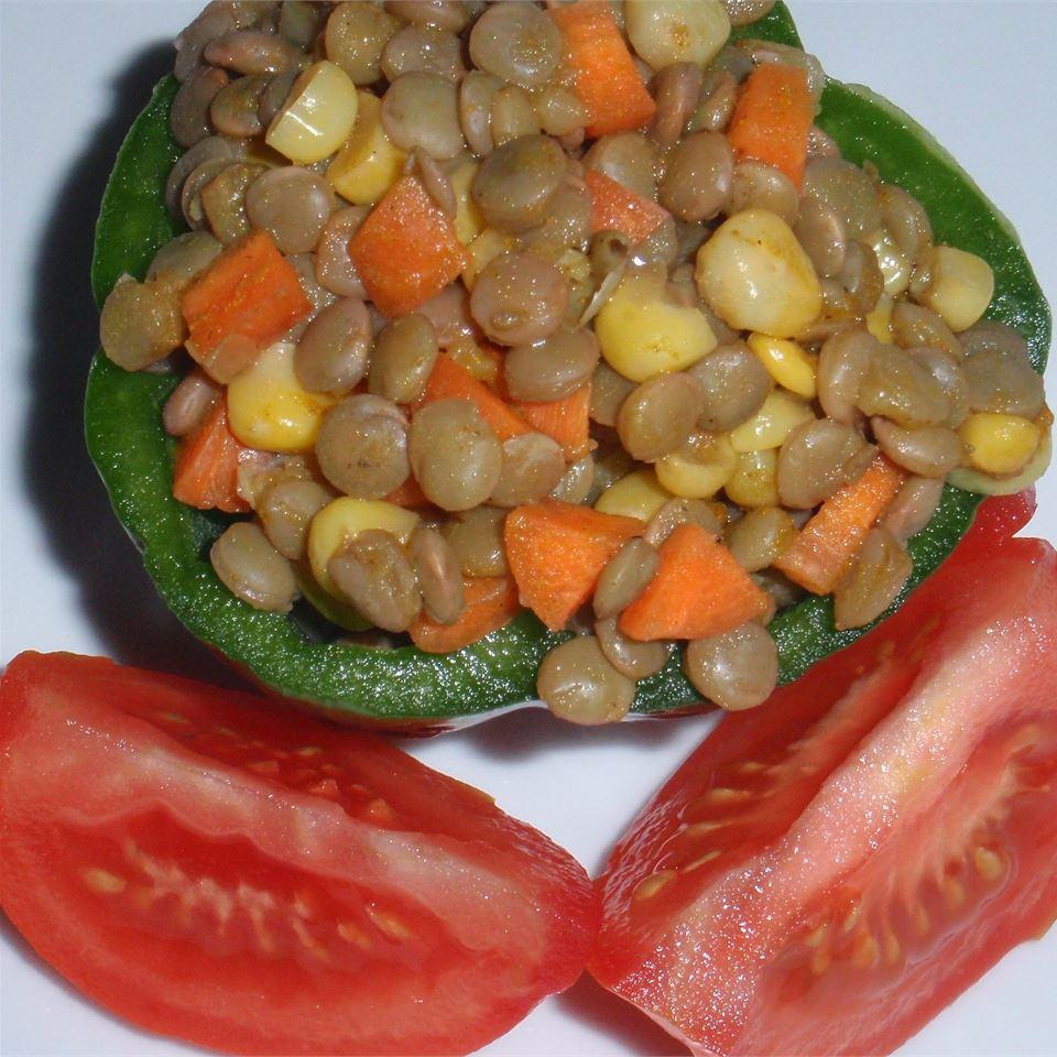 Curried Lentil Salad sueb