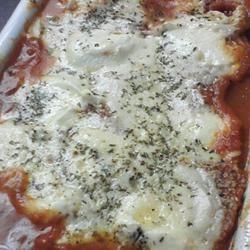 Nat and Darcy's Amazing Eggplant Lasagna