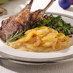 Scalloped Potatoes Gruyere