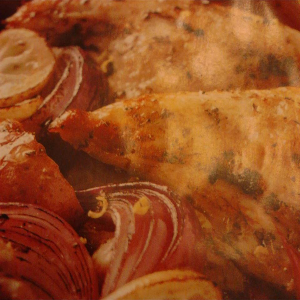 Lemony Mediterranean Chicken