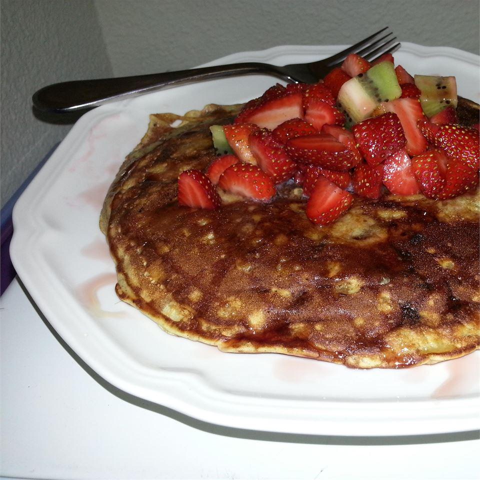 Quick Oatmeal Pancakes LoloBear