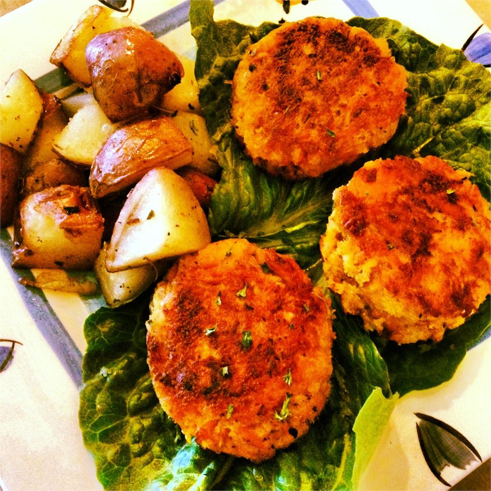 Salmon Cakes by Melt® Buttery Spread Yoursunshine82