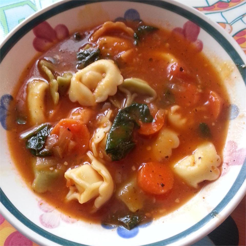 Tortellini Soup Susan Henriques