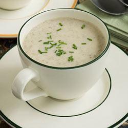 Creamy Sherry Mushroom Soup