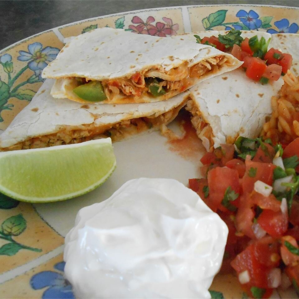 Pico De Gallo Chicken Quesadillas Recipe Allrecipes
