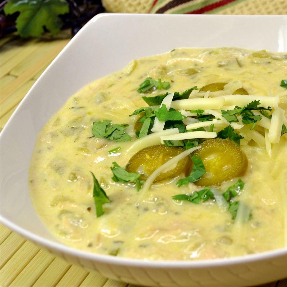 Patricia's Green Chile Soup