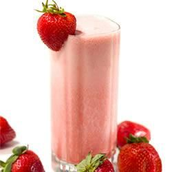 Fresh Strawberry Banana Sunrise Smoothie With Truvia® Natural Sweetener Trusted Brands
