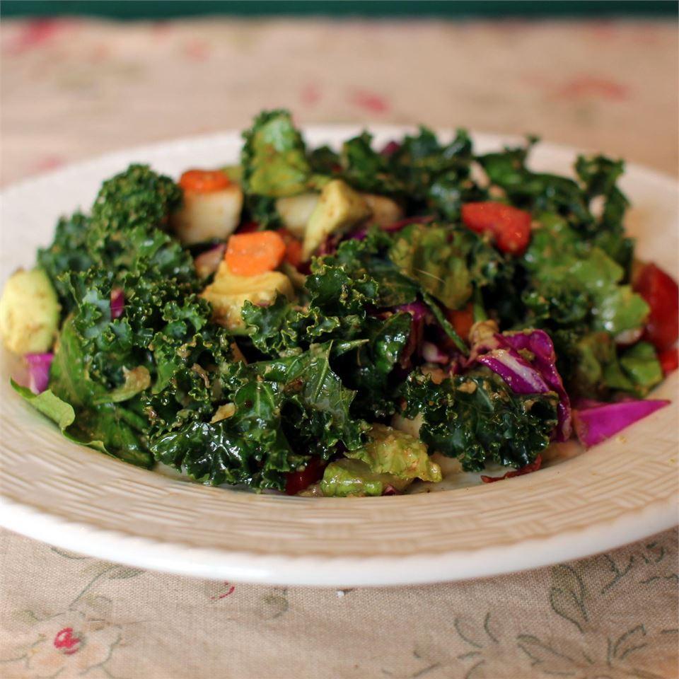 Winter Green Salad WIMSEY
