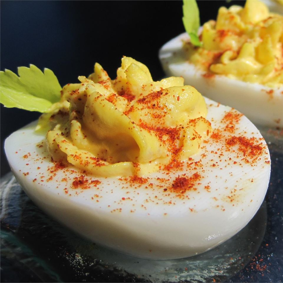 Simple Deviled Eggs image