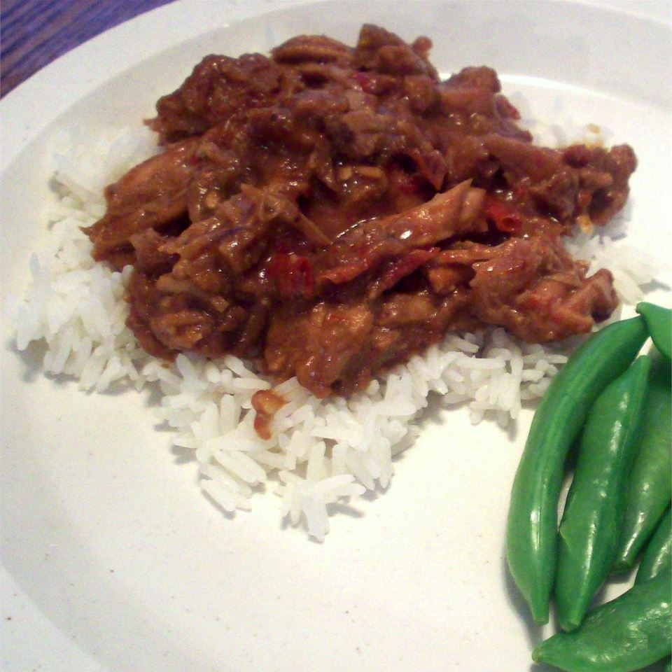 Slow Cooker Thai Pork with Peppers