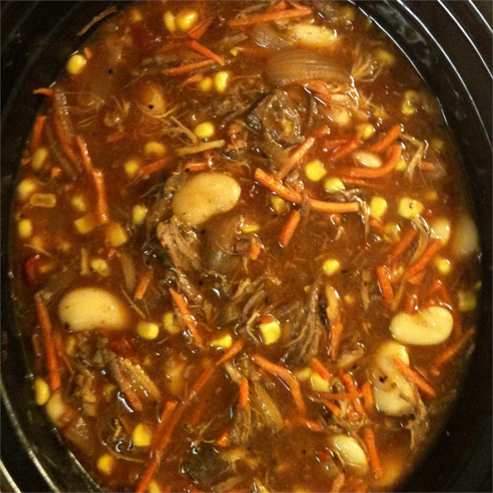 Amelia's Slow Cooker Brunswick Stew Peach822