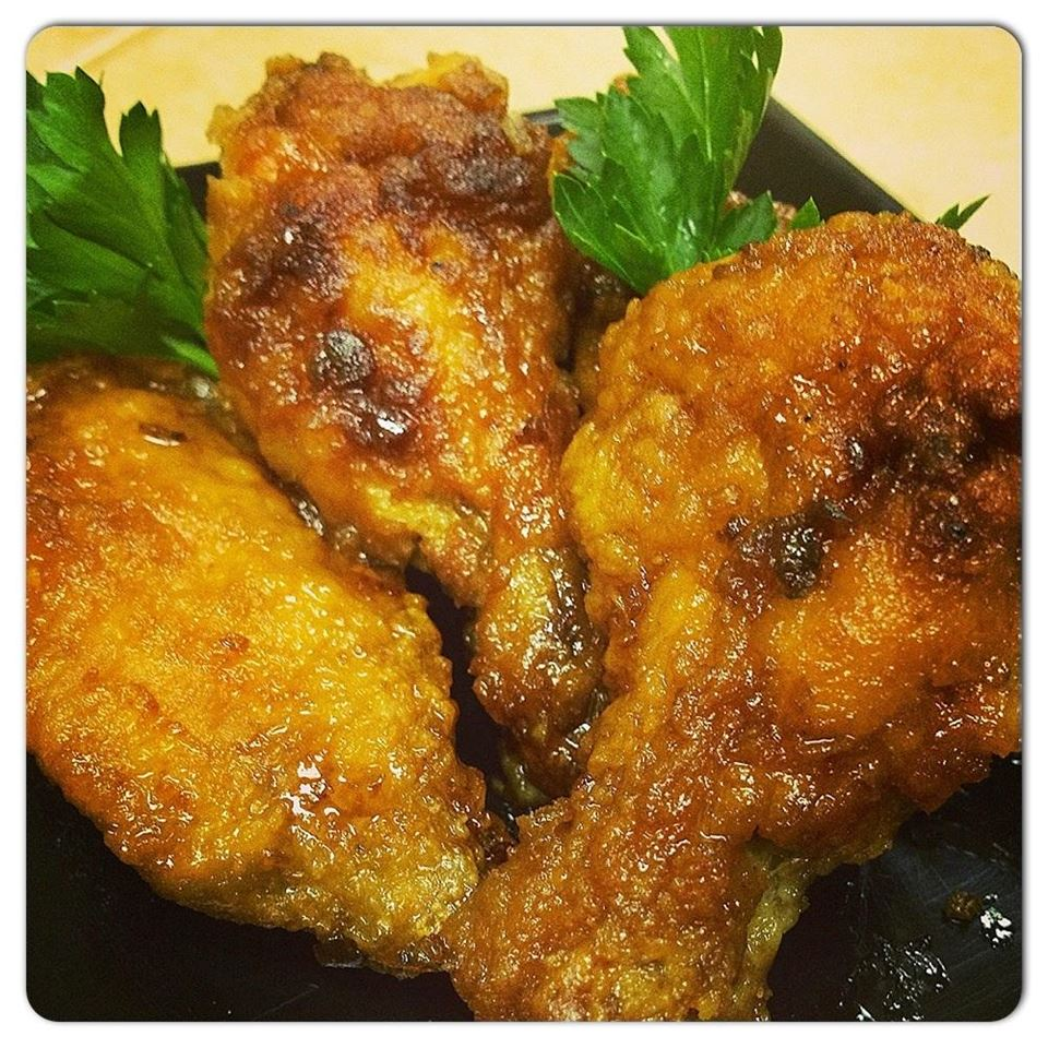 Spicy Ginger Chicken Wings MattOlay V-H
