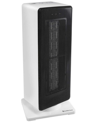 800 1 500 Watt Oscillating Ceramic Tower Heater with Safety Features - comfort zone