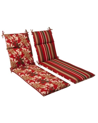 Outdoor Indoor Monserrat Chaise Lounge Cushion 1 Count - pillow perfect