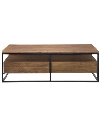 Vancouver Collection LX 1024 03 Coffee Table with Iron Frame - moes home collection