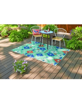 Better Homes and Gardens Crosspath Woven Indoor Outdoor Rug - better homes & gardens