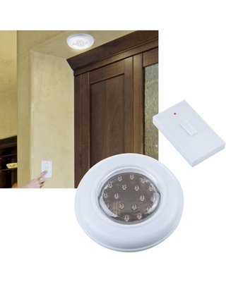 Cordless Ceiling Wall Light with Remote Control Light Switch - everyday home