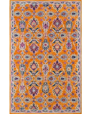 Oriental Traditional Area Rugs Pink - momeni