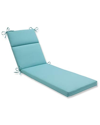 Outdoor Indoor Sunburst Pool Chaise Lounge Cushion - pillow perfect