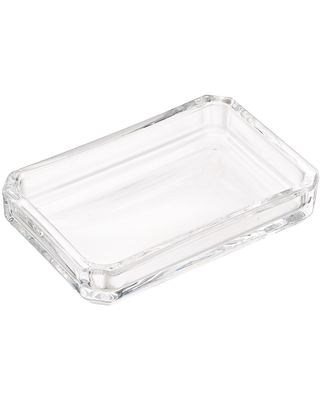 Glass Soap Dish - undefined