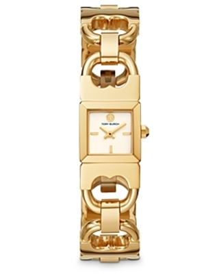 The Double T Link Watch x - tory burch