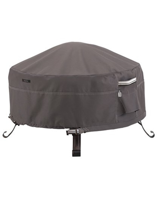 Ravenna Water Resistant 30 Inch Full Coverage Round Fire Pit Cover - classic accessories